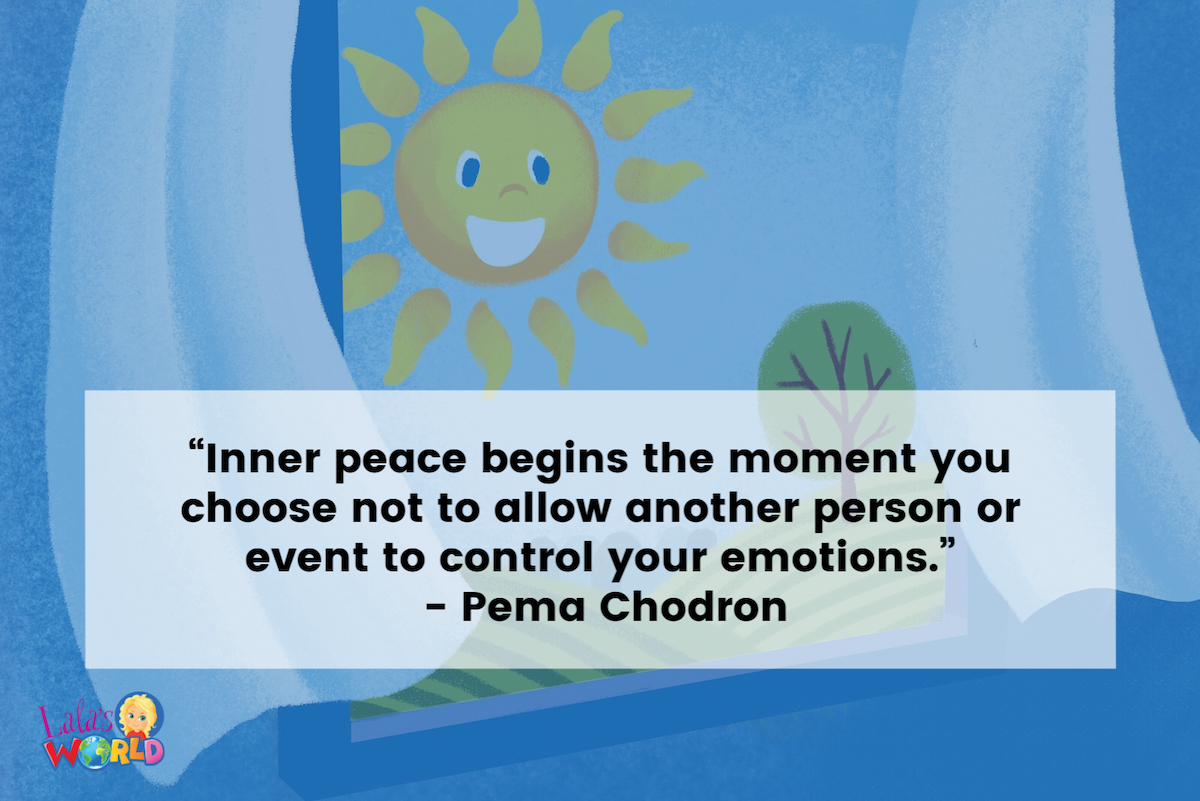 Teen Mental Health   Inner Peace Quote   Mindful Practice